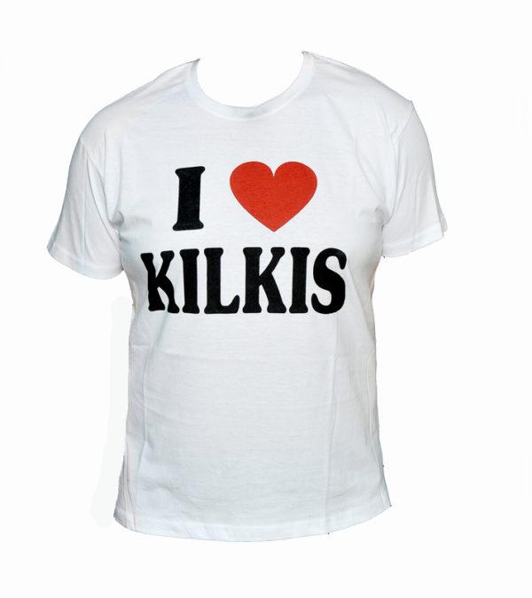 Κοντομάνικο T-shirt I Love Kilkis-white