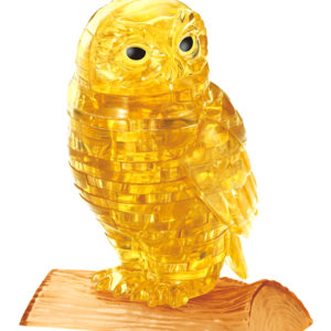 3D Crystal Puzzle Golden Owl