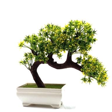 Μπονσάι δεντράκι πλαστικό πράσινο